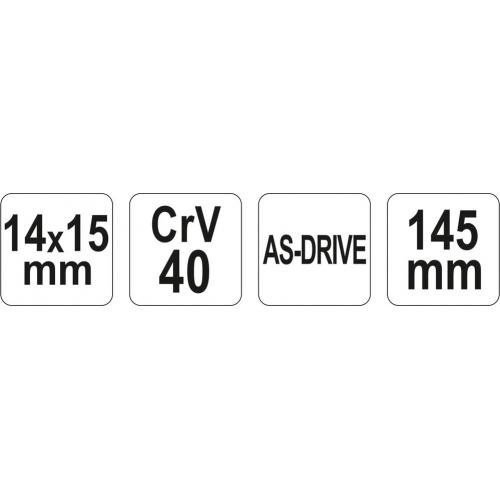 CHEIE pt.TEVI 14x15MM