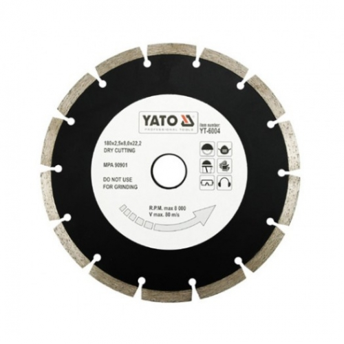 Disc diamantat segmente HS 180 mm