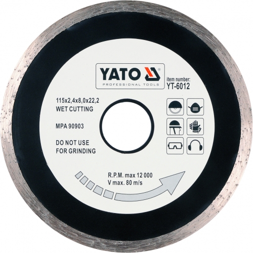 Disc diamantat EN 115 mm