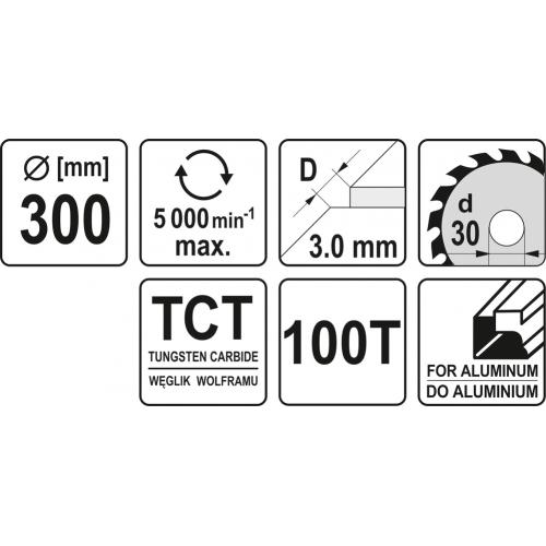 DISC FIERASTRAU CIRC. WF PT AL300X30X100