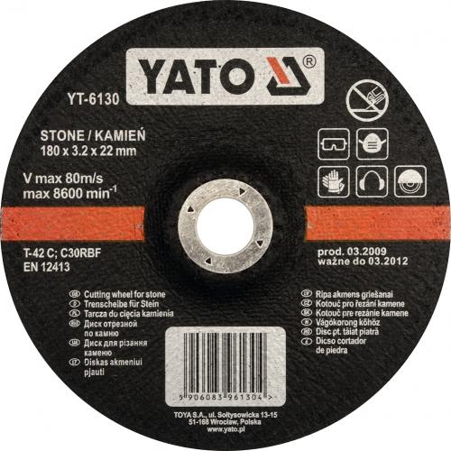 DISC TAIAT PIATRA 180X3.2X22MM