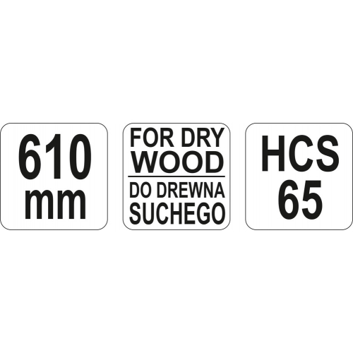 lama pentru lemn uscat 610MM