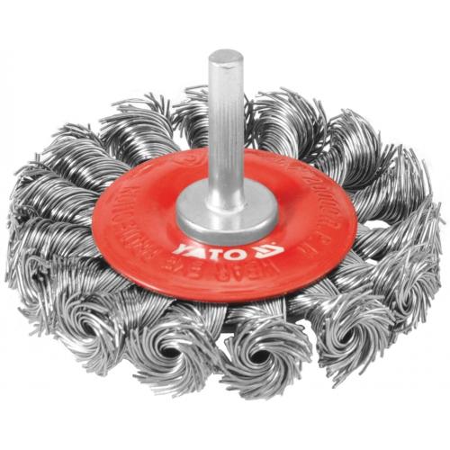 Perie circulara cu toroane, 75mm