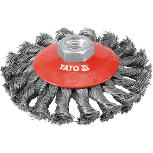 Perie circulara cu toroane, 100mm, m14