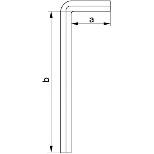 Hex key 1.5 mm