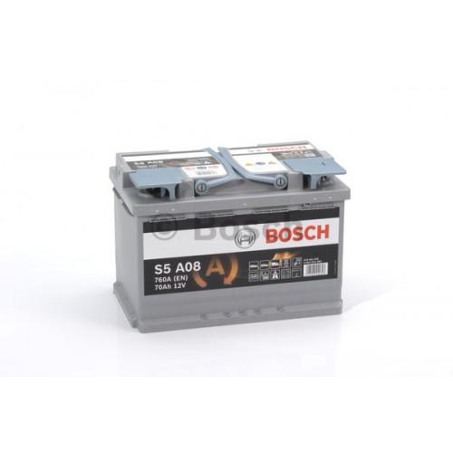 ACUMULATOR BOSCH S5 AGM - 70[AH] 760EN[A]