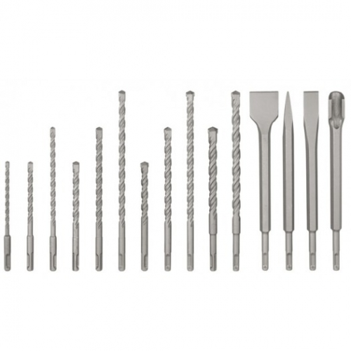 Set burghie + dalti  sds plus, 15buc