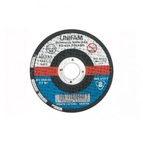 DISC PT DEBITAT METALE 125x3,2x22 MM