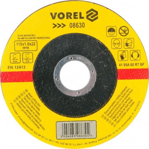 DISC PENTRU TAIAT METAL 115X1X22 MM