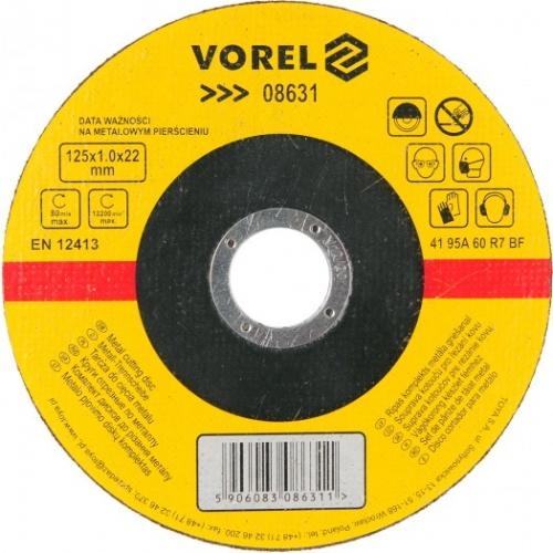 DISC PENTRU TAIAT METAL 125X1X22 MM