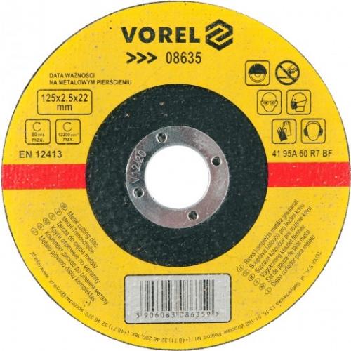 DISC PENTRU TAIAT METAL 125X2,5X22 MM