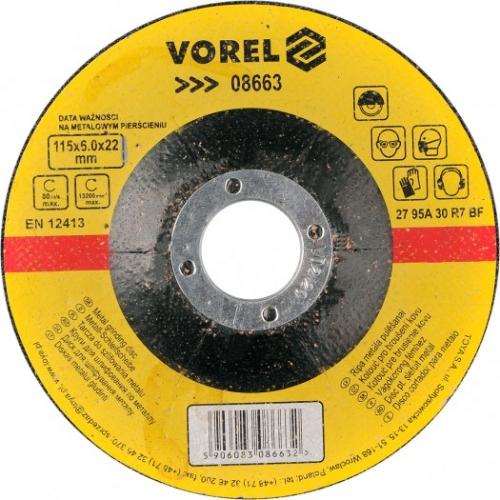 DISC PENTRU SLEFUIT METAL 115X6X22 MM