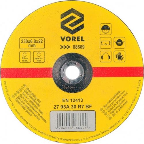 DISC PENTRU SLEFUIT METAL 230X6,8X22 MM