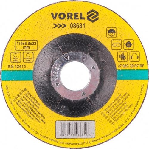 DISC PENTRU SLEFUIT PIATRA 115X6X22 MM
