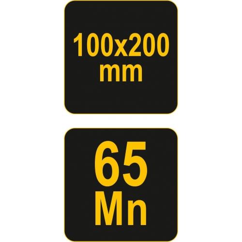 WYMIENNE OSTRZE L-200 X 100 MM