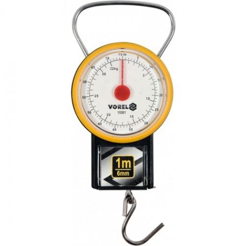 Waga sprężynowa 32 kg z miarką zwijaną 1 m
