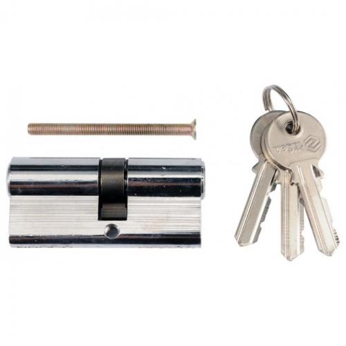 Asymmetric lock cylinder