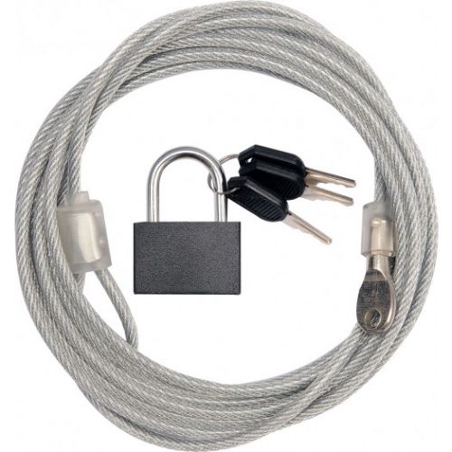 Security cable and lock