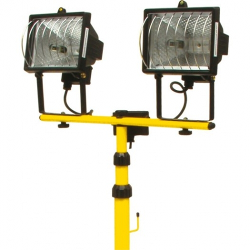 LAMPA HALOGEN 2 SPOTURIX500W CU SUPORT