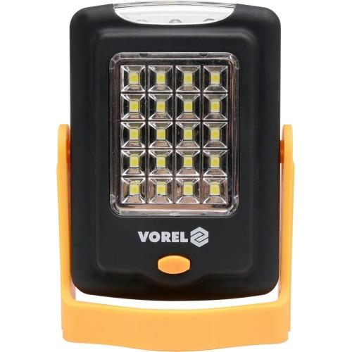 LAMPA RĘCZNA OBROTOWA 20+3 LED