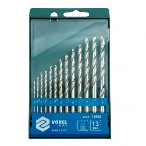 Set burghie pt metal,13buc, 2-8mm