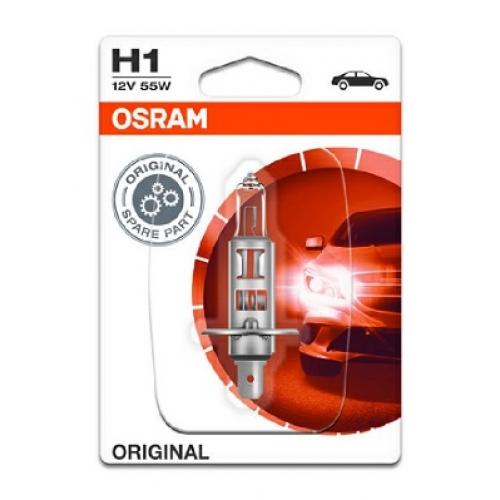 Bec OSRAM H1 12V 55W P14,5s (BLISTER)
