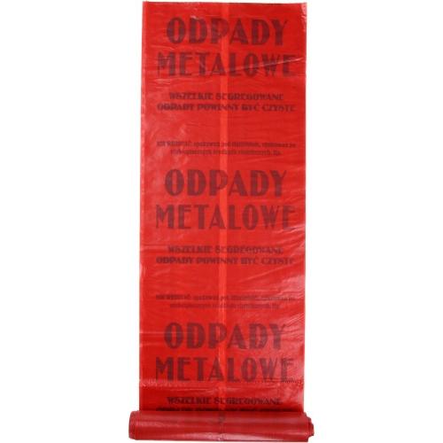Worek na odpady segregowane-metal 120l 10szt