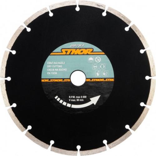 DISC DIAMANTAT SEGMENTAT 230X2.4MM H7