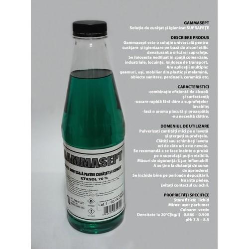 Soluție de curățat și igienizat universala 1l GAMMASEPT