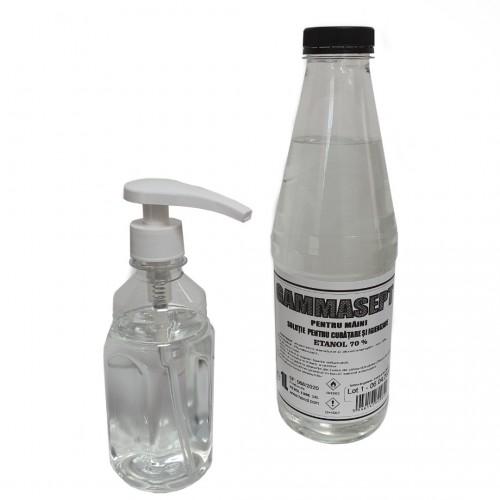Soluție pentru curățarea și igienizarea mâinilori 1L GAMMASEPT