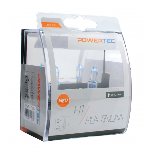 Bec POWERTEC H1 Platinum +130% SET DUO