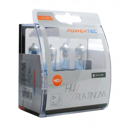 Bec POWERTEC H4 Platinum +130% SET DUO