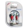 Bec LED M-TECH C5W, C10W - SV8.5 - 31mm (2x LED 3mm - 0.26W Rosu) Blister x 2buc