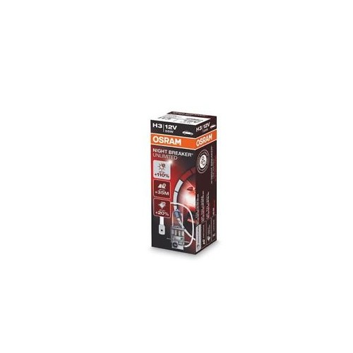 Bec OSRAM H3 12V 55W PK22s NIGHT BRAKER UNLIMITED