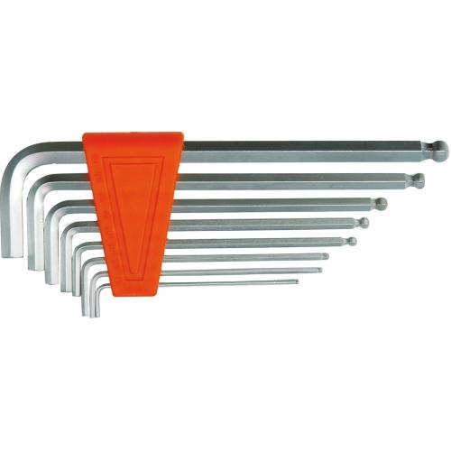 SET 8 CHEI HEXAGONALE, 1,5-8 MM, CR-V