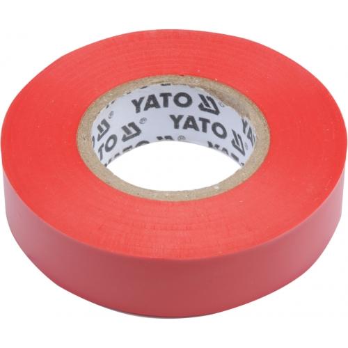 Taśma elektroizolacyjna 15mmx20mx0,13mm; czerwona