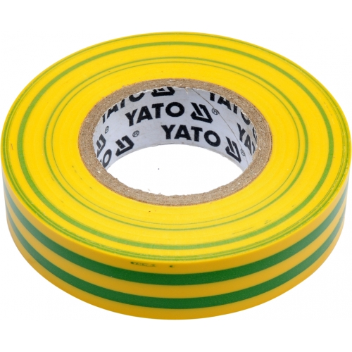 Taśma elektroizolacyjna 15mmx20mx0,13mm; żółto-zielona
