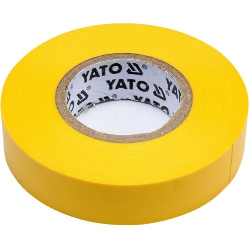 Taśma elektroizolacyjna 15mmx20mx0,13mm; żółta