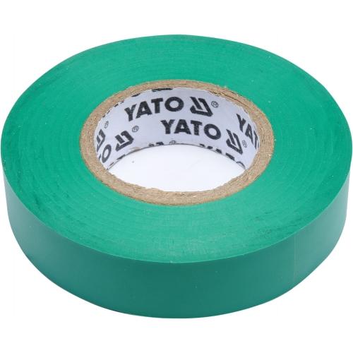 Taśma elektroizolacyjna 15mmx20mx0,13mm; zielona