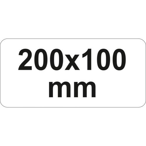 PRESA TIP F CU CLICHET, 200X100MM