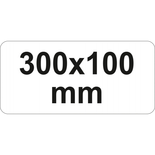 PRESA TIP F CU CLICHET, 300X100MM