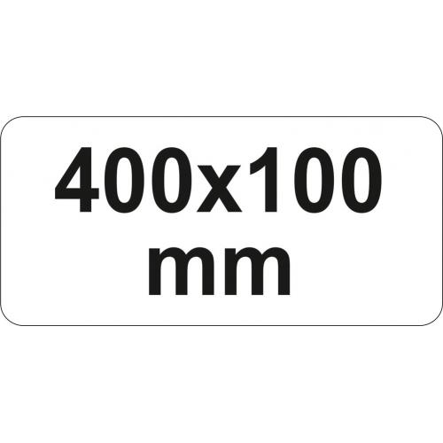 PRESA TIP F CU CLICHET, 400X100MM