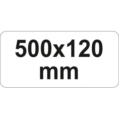 PRESA TIP F CU CLICHET, 500X120MM