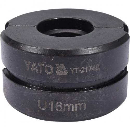MATRYCE ZAPASOWE DO YT-21735 PEX-AL-PEX YT-21735 TYP U 16MM