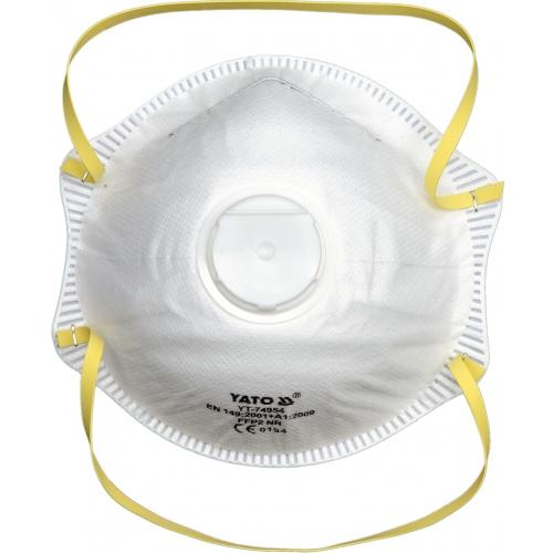 Półmaska filtrująca ffp2 zaworek czasza 500szt