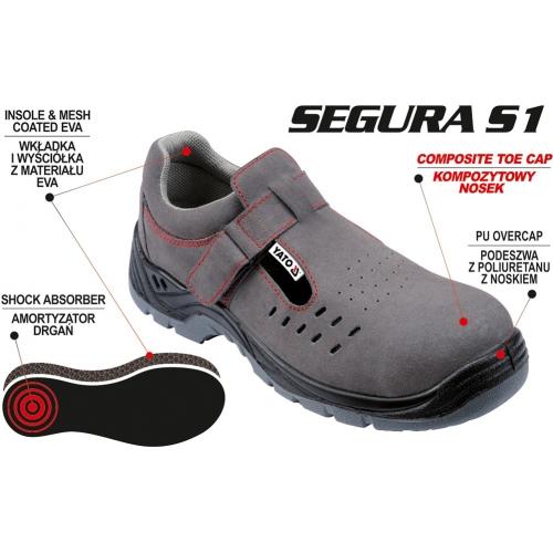 Sandały robocze segura s1 rozmiar 47