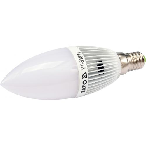 Żarówka świecowa 3W LED E14 230V C37 160Lm WW