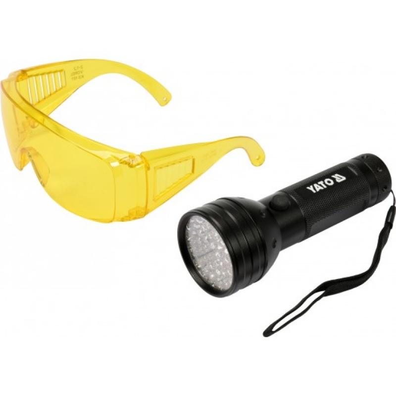 KIT LANTERNA LED UV+OCHELARI