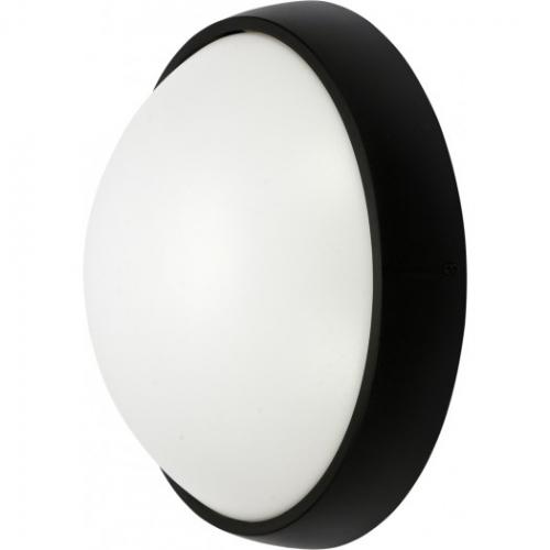 LAMPA ŚCIENNA ZEWN. LED 15W IP54 CZARNA