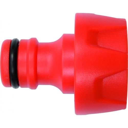 Snap-in tap adaptor 3/4''